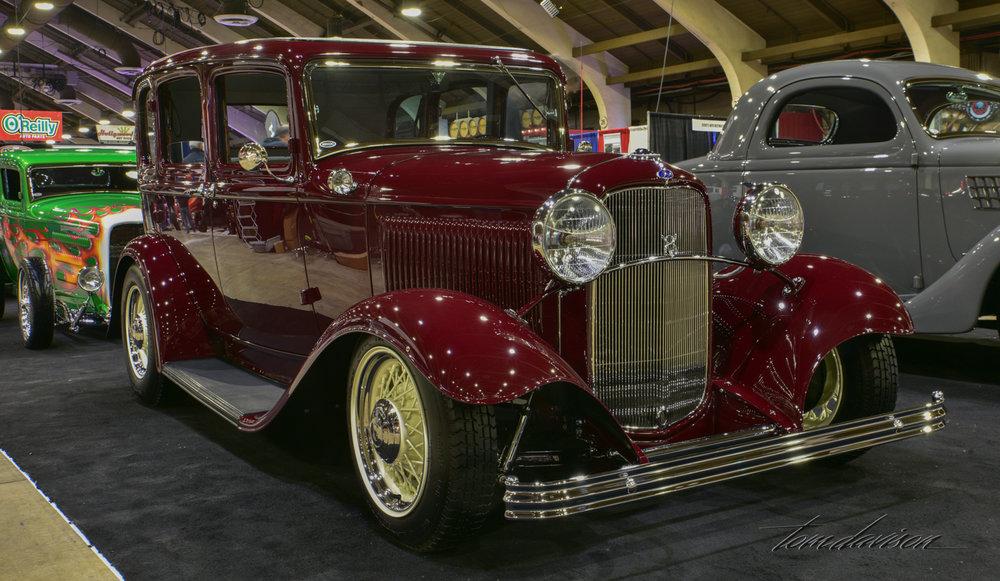 1932 Ford 4-door sedan.