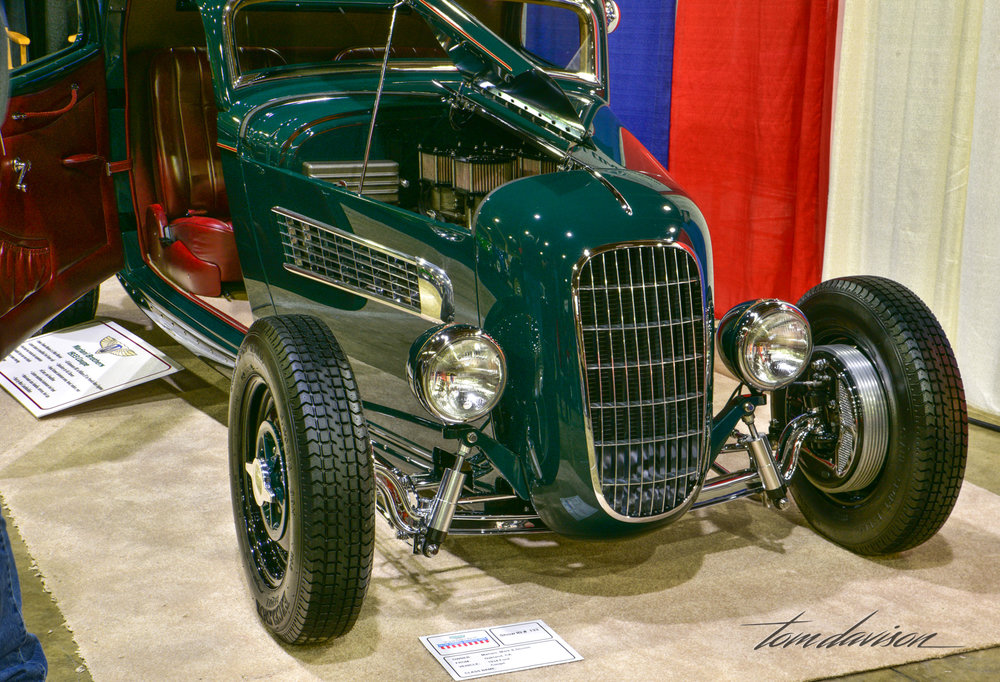 Coach built 1932 Ford.