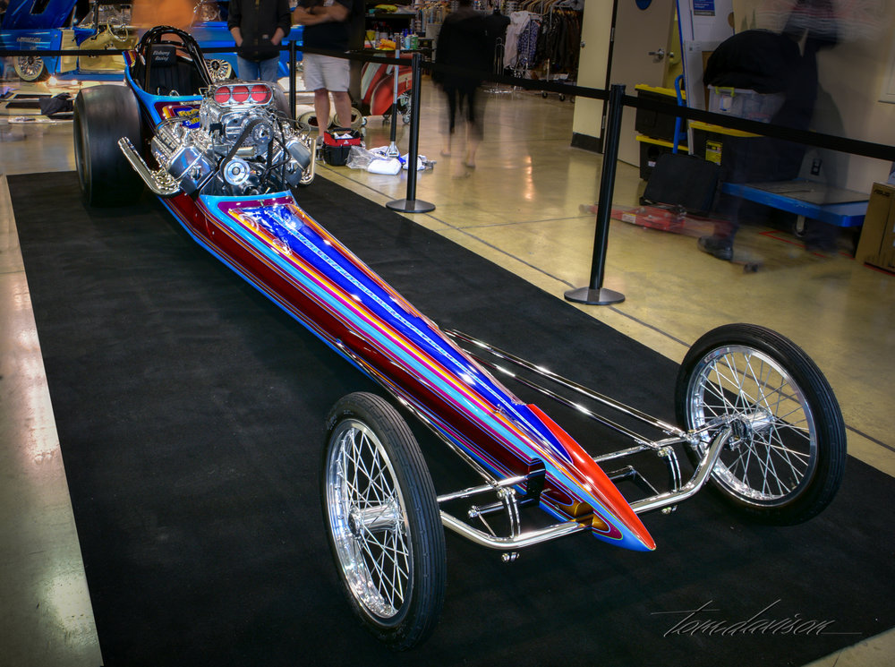 1960s - era AA fuel dragster.