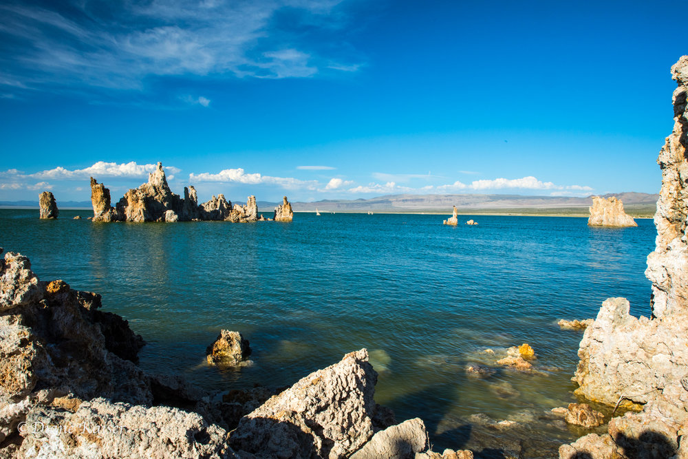 Mono Lake is one place I have photographed where the color of the water seemed to change by the hour as light played with sky reflections and even the calcite of the tufas.