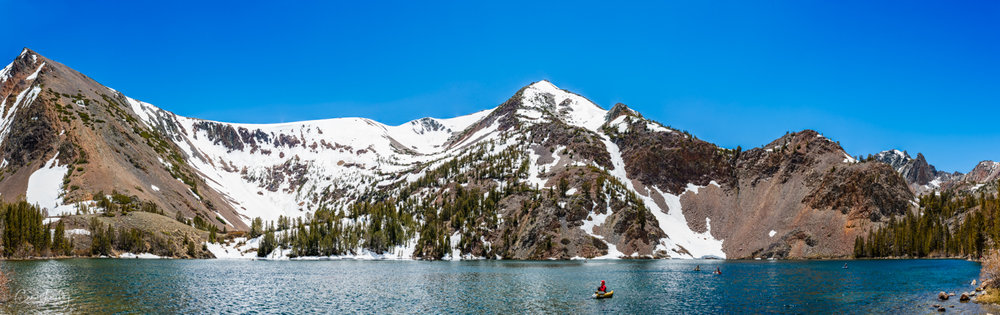 Located in the Virginia Lakes area are a resort, [2]  pack station, [3]  and small community. Virginia Lakes is popular with anglers, hikers, and campers. A trail beginning at Virginia Lakes serves as a gateway to the Sierra backcountry and  Yosemite National Park . [4]