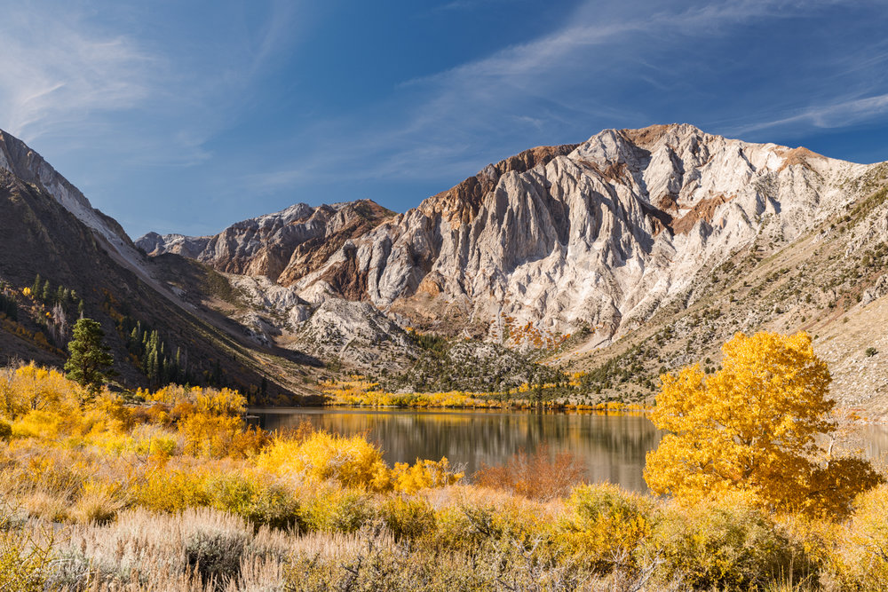 Convict Lake in the fall