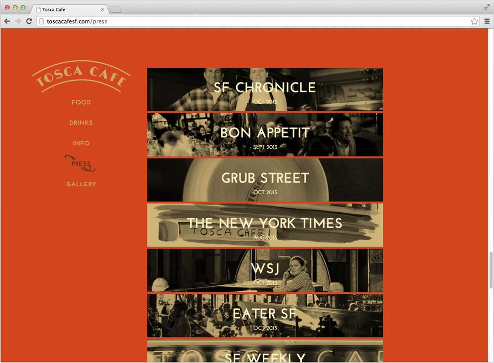 Tosca web press