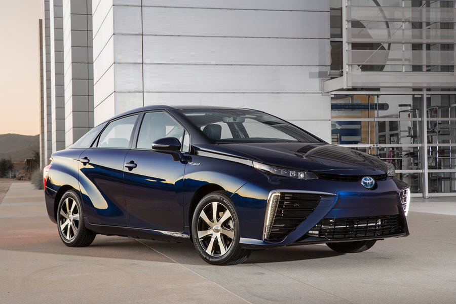 Toyota Mirai Hydrogen Fuel Cell (Future Vehicle)
