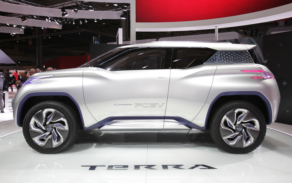 Nissan TeRRA Hydrogen Fuel Cell Concept
