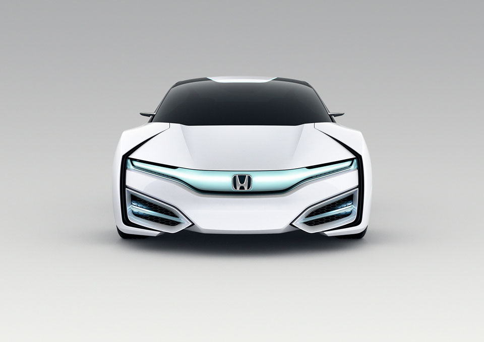 Honda FCV Hydrogen Fuel Cell Vehicle (Future/Concept)