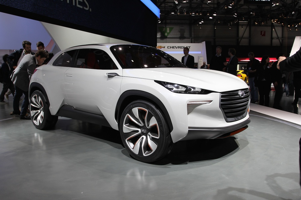 Hyundai Intrado Hydrogen Fuel Cell Crossover (CONCEPT) — Best Green Cars