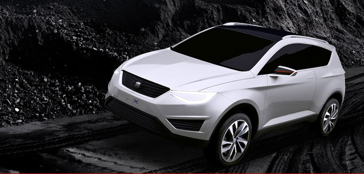 SEAT IBX Plug-in hybrid Crossover concept