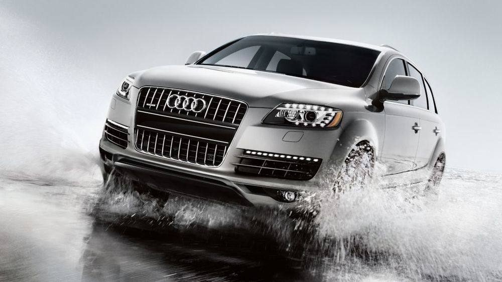 Photo Shown is of 2015 Audi Q7. The q8 e-Tron is expected to be built on the same platform photo credit - audiusa.com