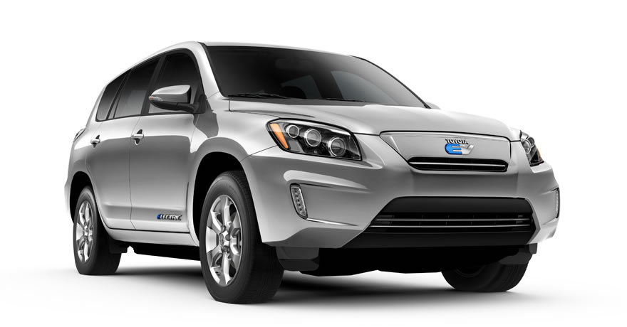 2014 Toyota RAV4 All-Electric - Discontinued