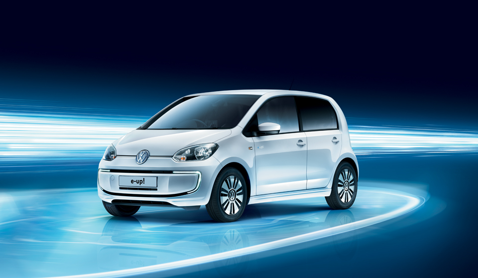 2015 Volkswagen e-up (All-electric). Photo Credit - volkswagen.co.uk