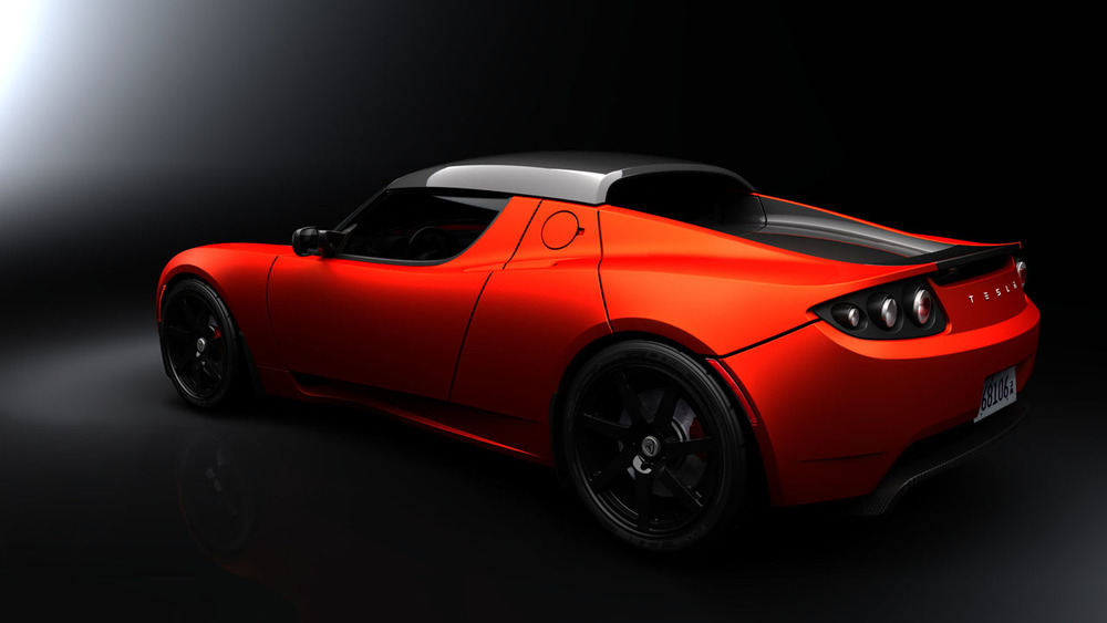 Tesla Roadster - Exterior Orange
