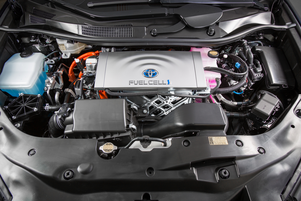2016 Toyota Mirai FCEV - Under the Hood