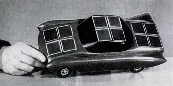 1955 Sunmobile by William Cobb (15 inch model)