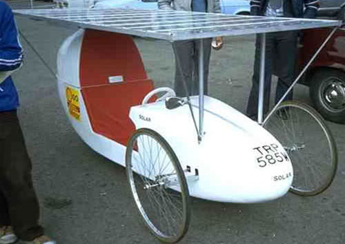 1979 Solar Car by Alan Freeman (Registered in 1980)