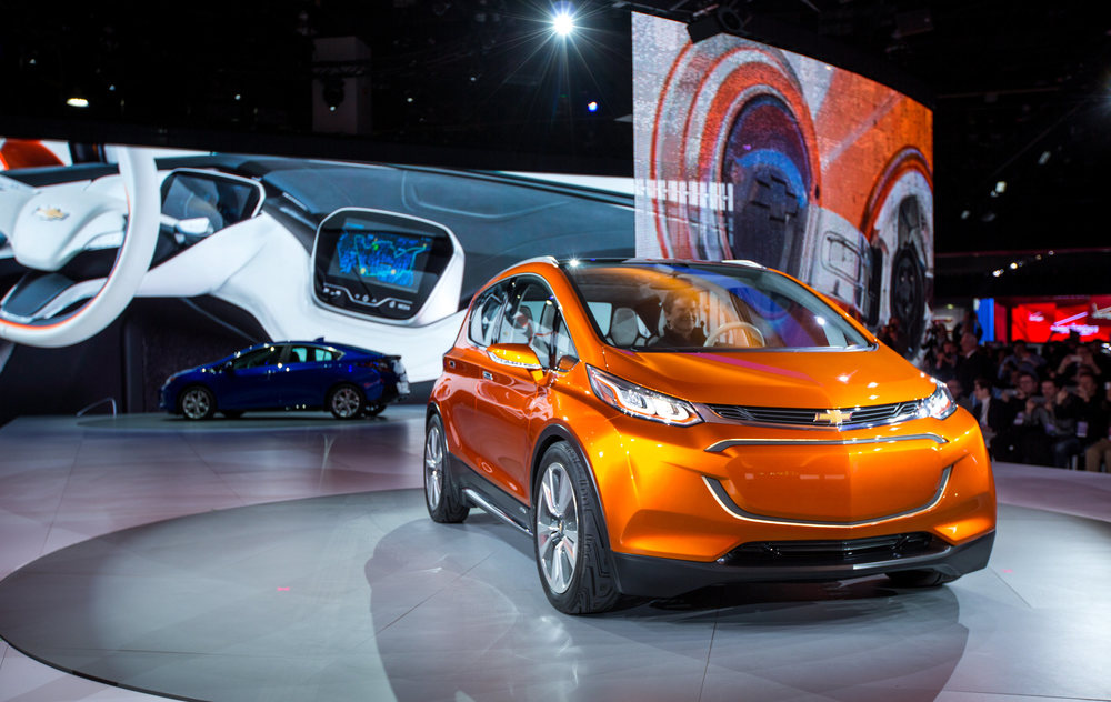 Chevy All-electric Volt Concept - 2015 Detroit auto show