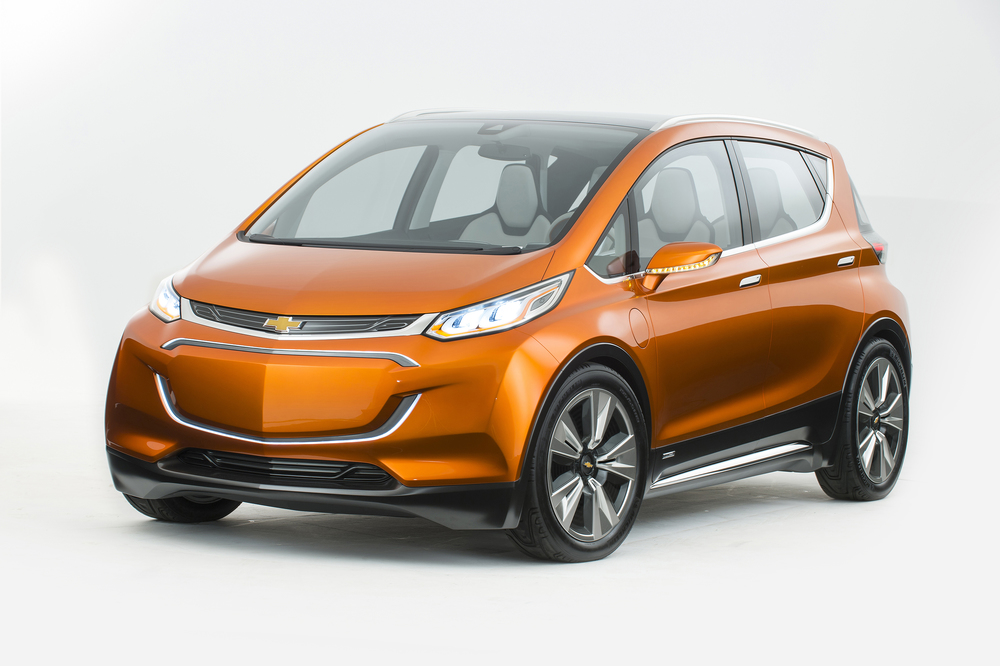 Chevy Volt Concept All-Electric