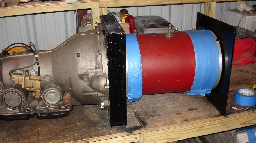Motor Used - Netgain 11 Series Wound DC