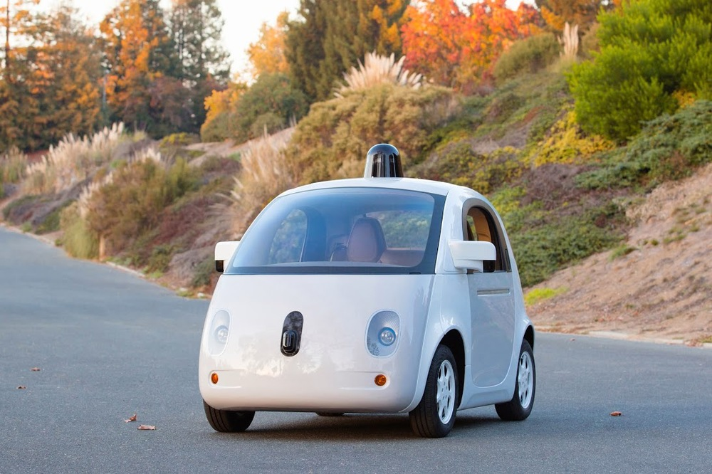 "Google Self Driving Car/Technology. Also Known as the""MARSHMALLOW"".  Expected to be available to the general public in 2020"
