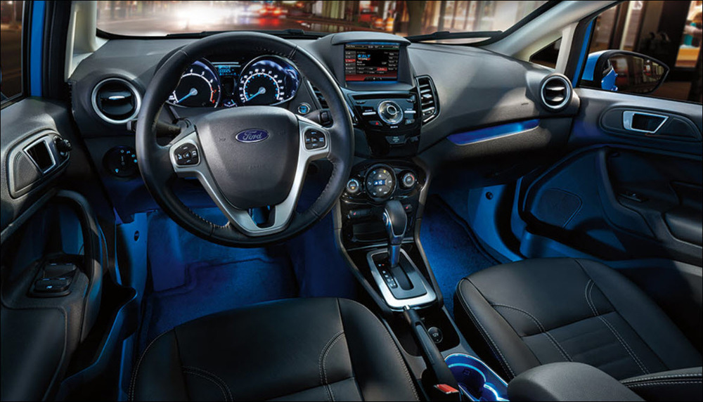 2015 Ford Fiesta - Interior Photo Credit  - Ford Motor Company