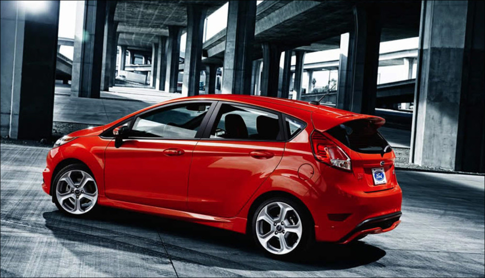 2015 Ford Fiesta ST - Exterior Photo Credit  - Ford Motor Company