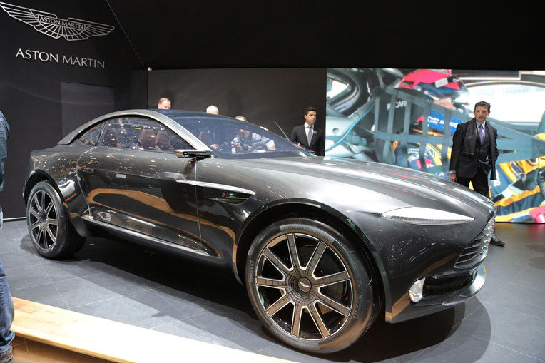 Aston Martin DBX All-Electric SUV Concept (2015 Geneva Motor Show)