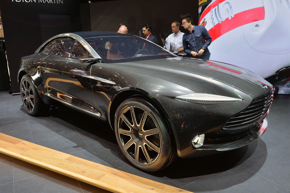 Aston Martin DBX All-Electric SUV Concept (Geneva 2015)
