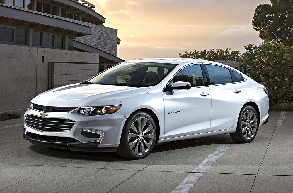 2016 Chevy Malibu and Its appealing new design