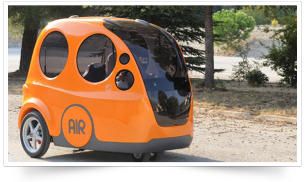 AIRPod by Zero Pollution Motors
