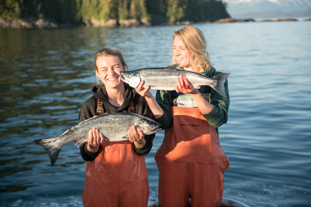 Claire Neaton & Emma Teal Laukitis, Salmon Sisters