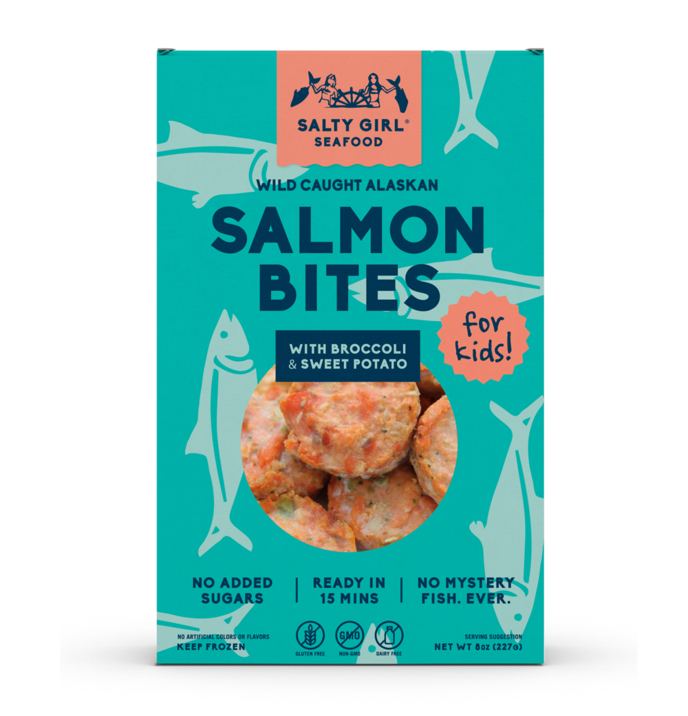 Salty Girl Seafood Salmon Bites for Kids