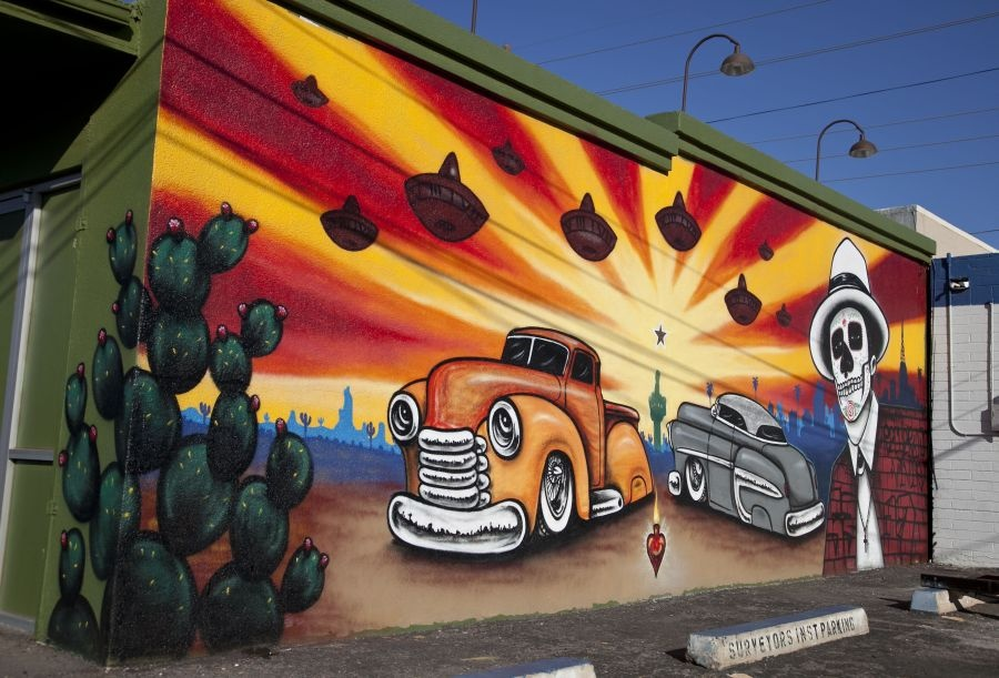 Calle 16 Mural Project ( Image Source )