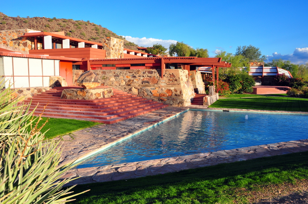 Frank Lloyd Wright's Taliesen West ( Image Source )