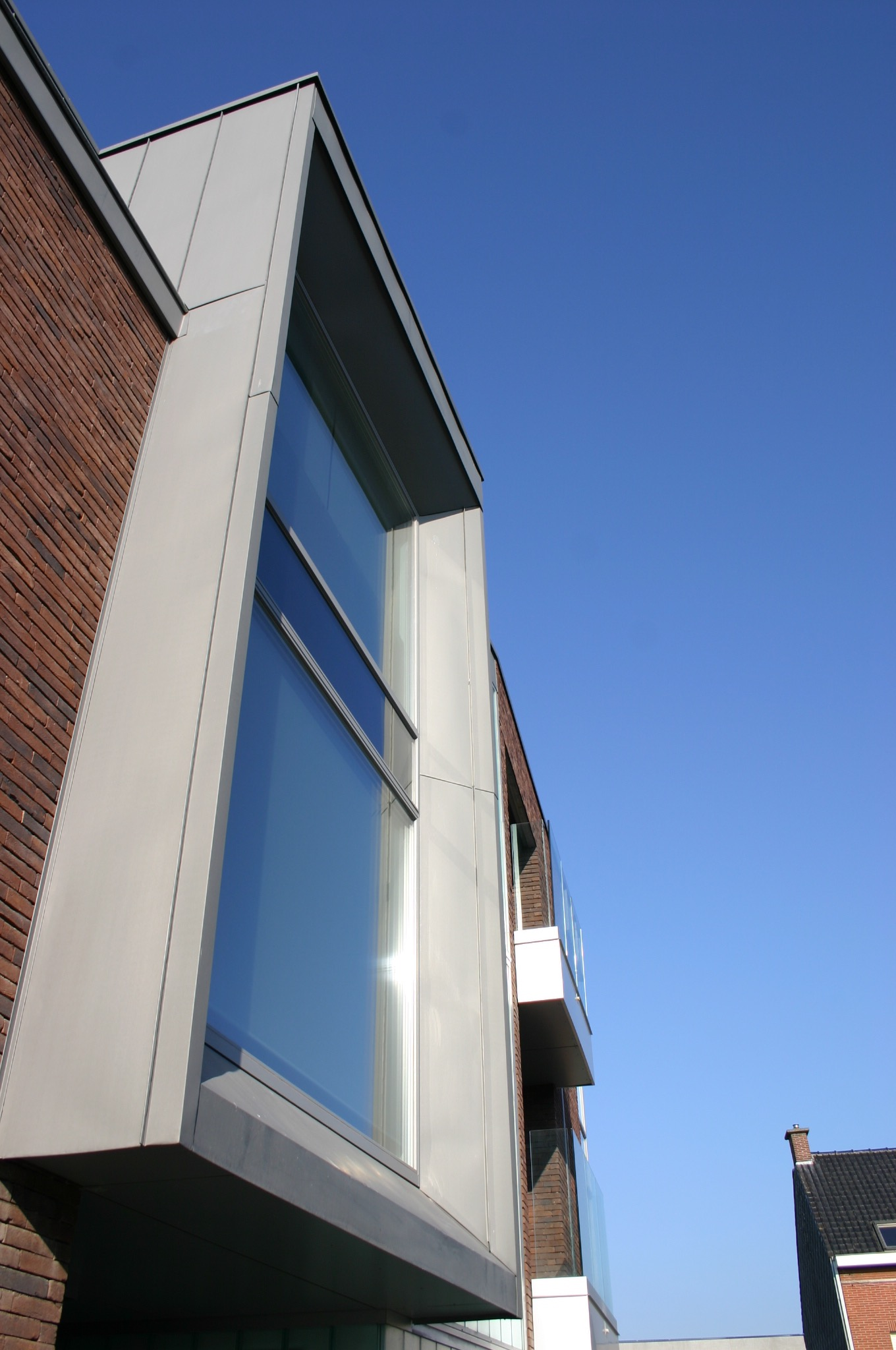 Appartementen k a a i architecten for 9 square matrix architecture
