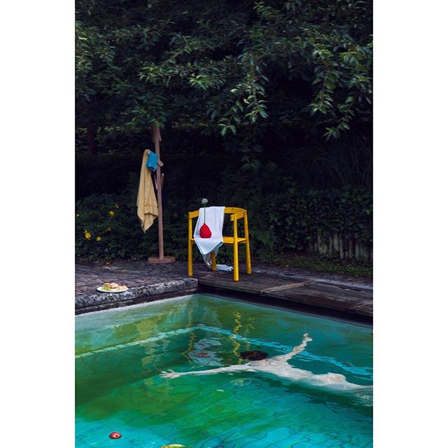 #throwback to an endless #summer. Our very first #lookbook, 📸 by the amazing @athosburez. #goodvibesonly .. #design #thegameonline #thegamedesignstore #designstore #brussels #webshop #shoponline #karimokunewstandard #pcm #pool #nakedman #summer