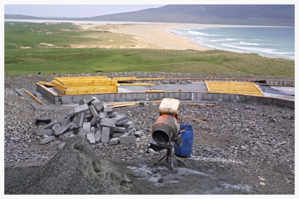 Foundations on Isle of Harris