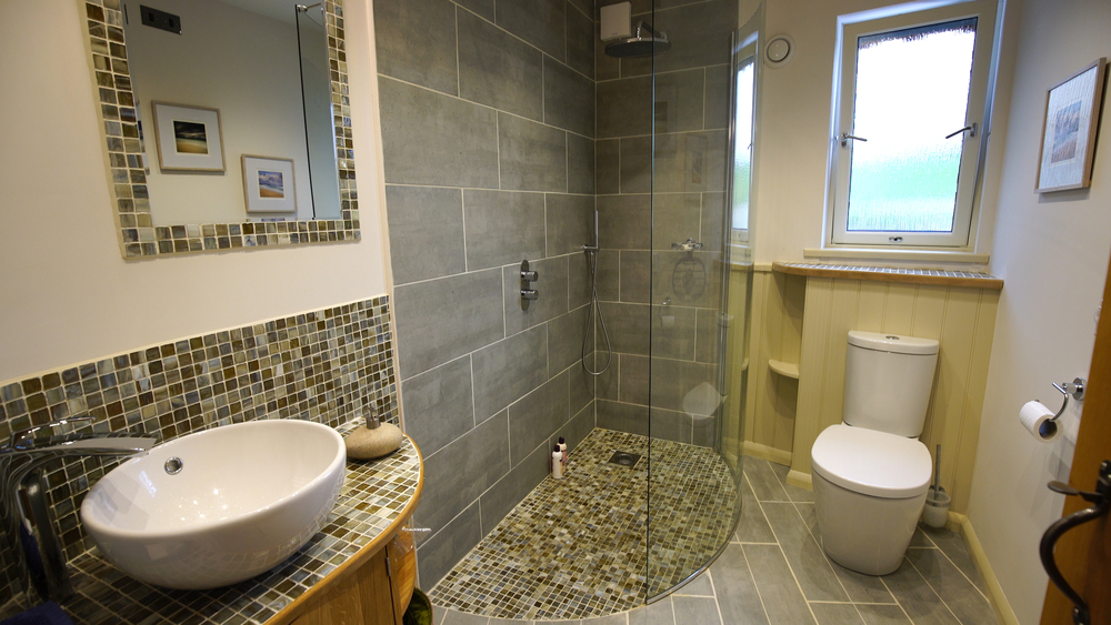 Chaipaval has a beautiful bathroom with a massive rain-style walk-in shower