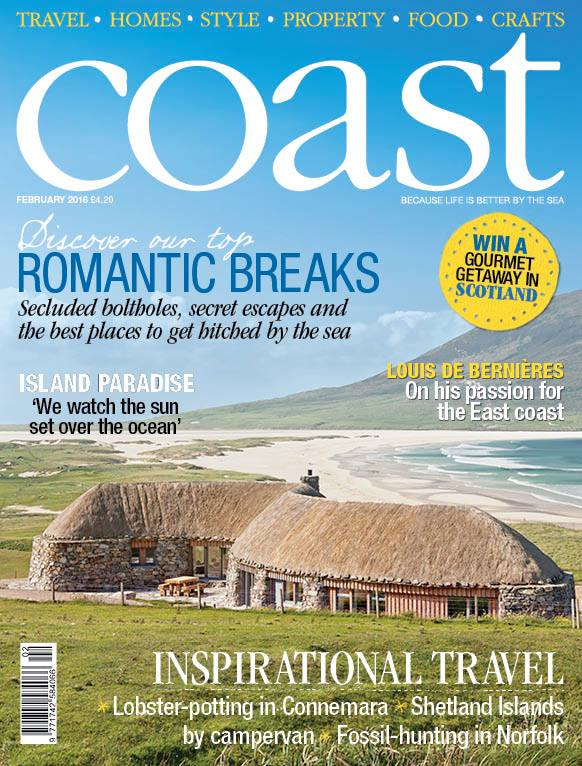 "Òran na Mara is the main feature in the popular Coast magazine.  It was featured in the Sunday Times and on ""Homes by the Sea"" on Channel 4."