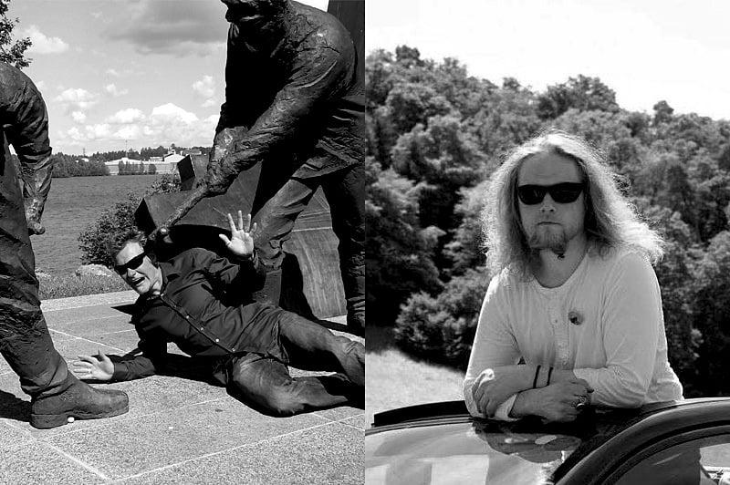 Patsaspuiston pehtoorit Atte Paju ja Kimmo Heikkilä