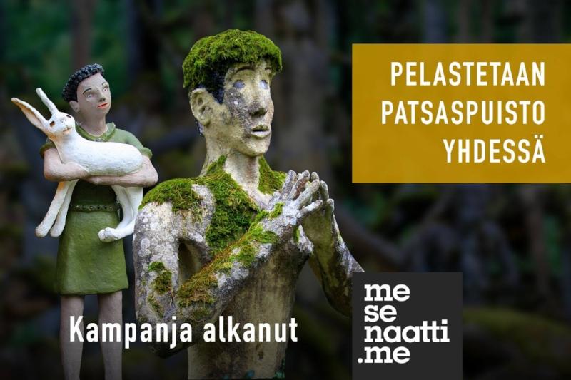 Osallistu:http://mesenaatti.me/pelastetaanpatsaspuisto