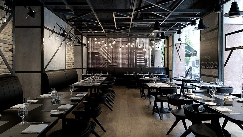 KNRDY American Steakhouse & Bar - világításvezérlés
