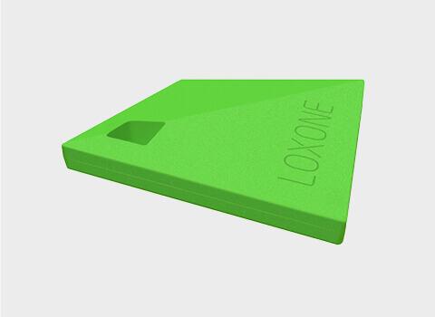 NFC kulcs - A Loxone NFC kulcs használata igazán egyszerű, és tökéletesen helyettesíti a bejárati ajtód kulcsát. Segítségével érintés nélkül bejuthatsz az otthonodba.