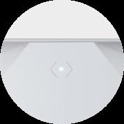 Felső LED - Ez jelzi, hogy éles-e a riasztás vagy sem. De egyedi funkciókat is rendelhetsz hozzá.