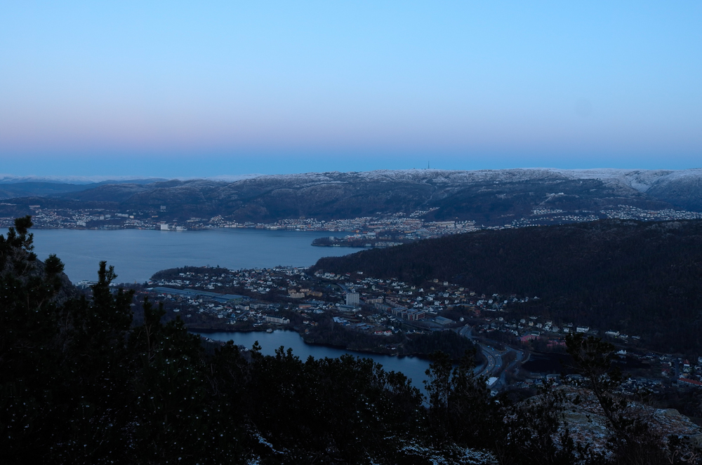Really cold Bergen
