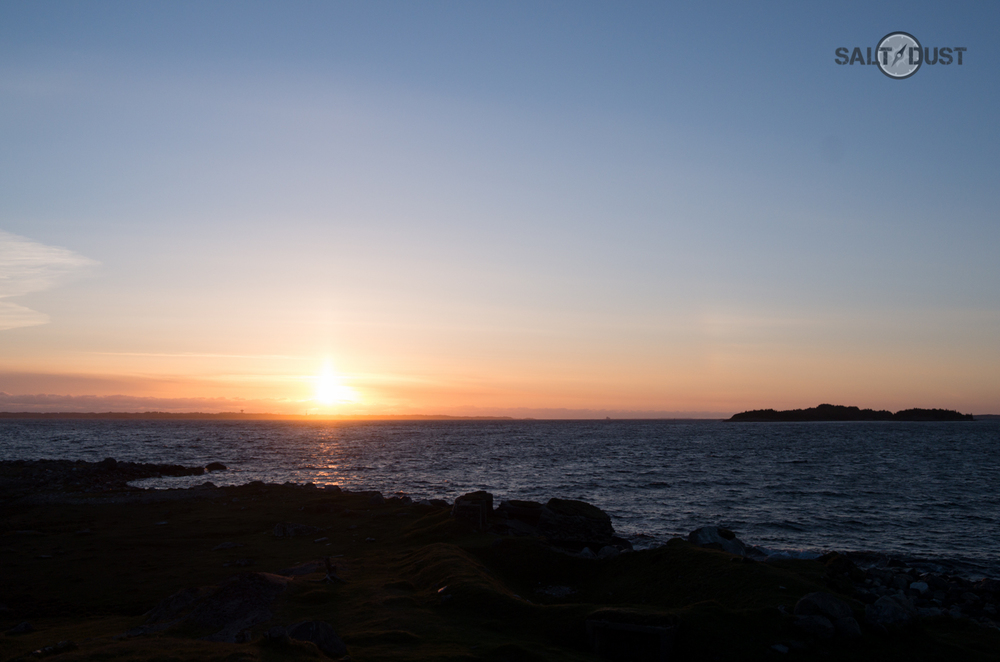 Sunset over Øygarden II.
