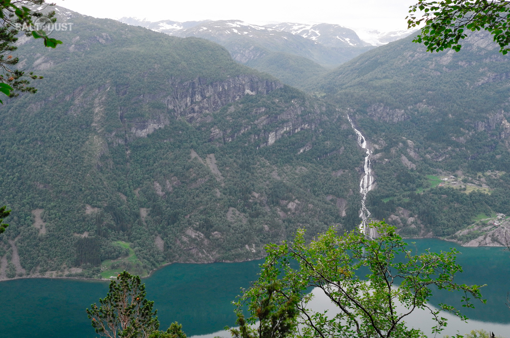 Sandvevatnet & Strondsfossen