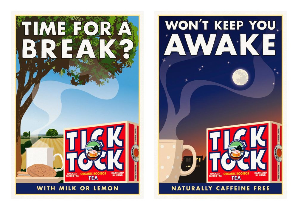 Tick Tock / Poster / Time For A Break - Won't Keep You Awake