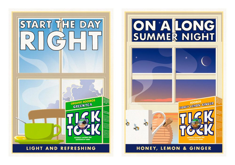 Tick Tock / Poster / Start The Day Right - On A Long Summer Night