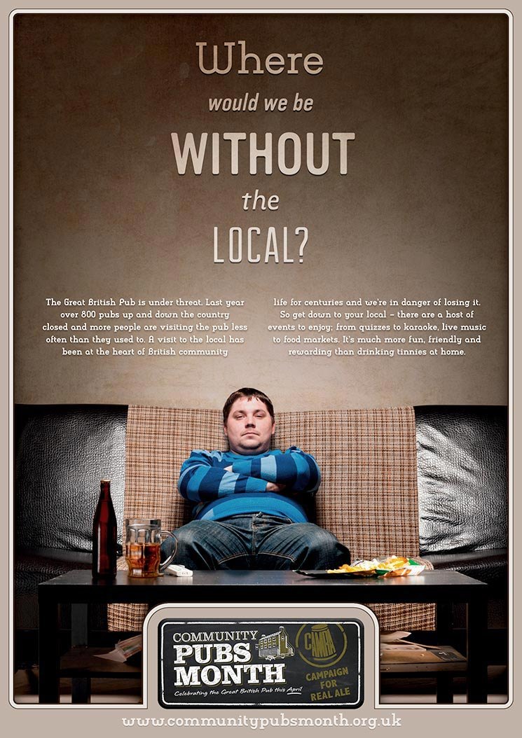 CAMRA / Local Poster / 1