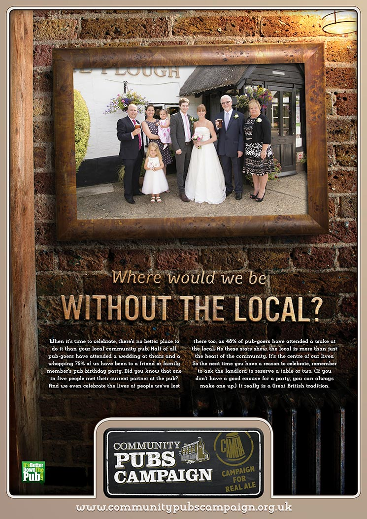 CAMRA / Local Poster / 3